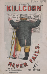 Advert for Mason's Killcorn